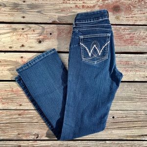 Wrangler Bootcut Embroidered Riding Rodeo Jeans W9